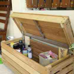Reclaimed Wood Storage Chest • 1001 Pallets