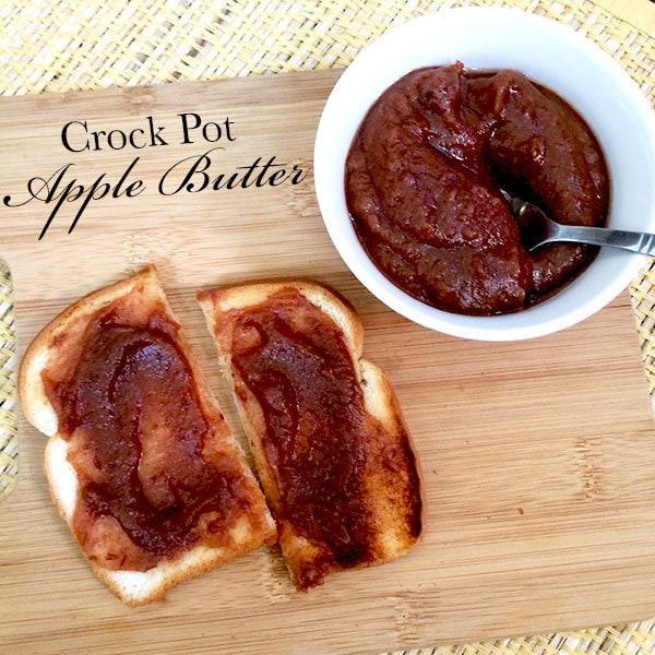 Make apple butter in the crock potMake apple butter in the crock pot