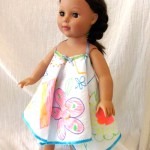 Make a doll sundress