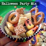 Quick Halloween Party Mix - YUM!