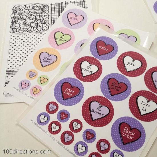 Printable Valentine's Day art