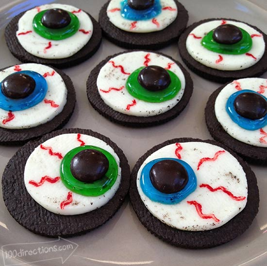 OREO Eyeball DIY treats
