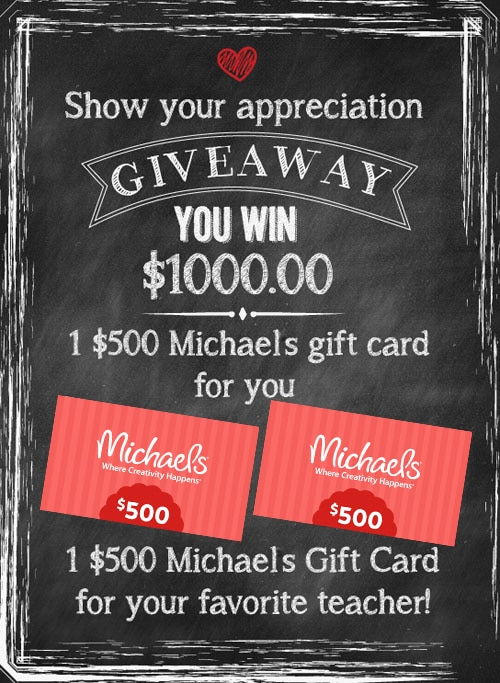 Double Awesome Show Your Appreciation Giveaway