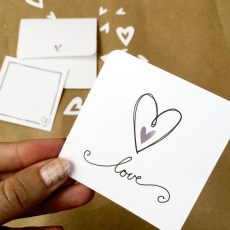 Make a Mini Love Note with Your Cricut