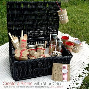 Create a picnic party set designed by Jen Goode
