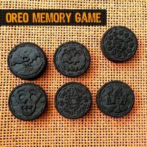 Halloween OREO Cookie Memory Game