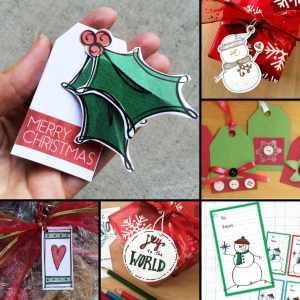 Christmas Gift Tags You can Make Yourself
