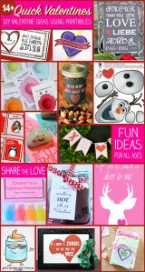 Quick Valentines to Make with Printables