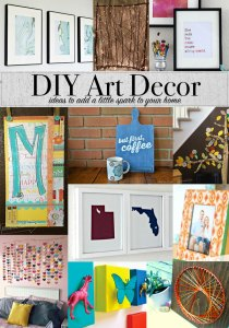 DIY Art Decor Ideas to add a little spark to your home