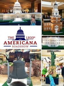LEGO Americana Roadshow display in Colorado