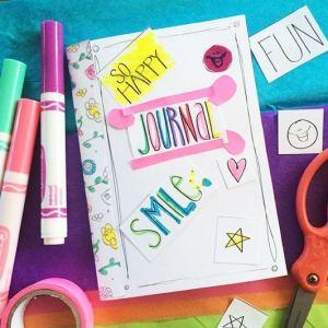 Printable journal kit designed by Jen Goode