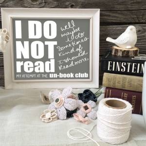 I Do Not Read - Talking about an Un-Book Club