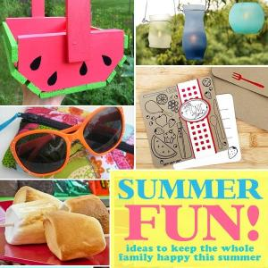 Summer Fun Ideas for the Whole Family