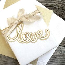 Quick Wedding Gift Tag with Pretty Printable and SVG