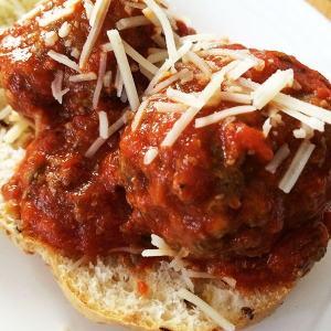 Easy Meatball Sandwiches