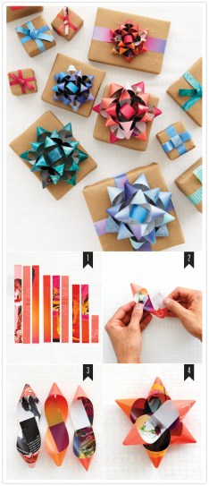 gift wrap bow