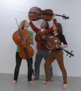"""Trio """"für cello"""", : ©Greta Magen"""