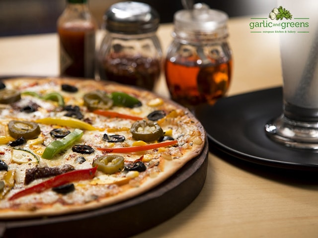 Image result for garlic and greens chandigarh