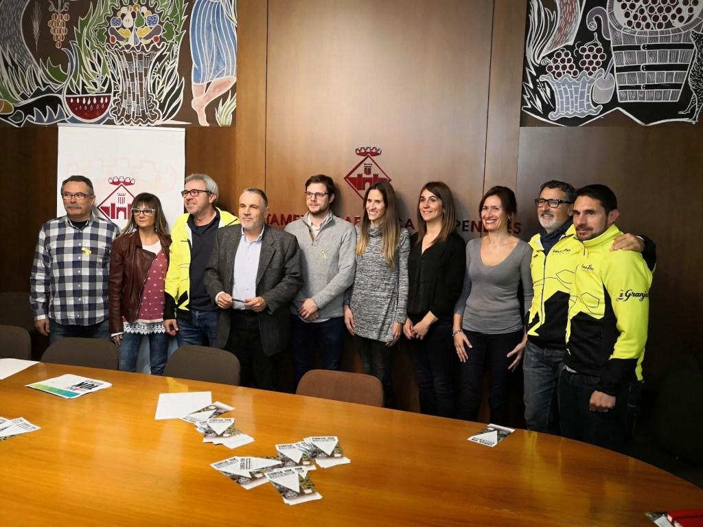 Cursa 10k Vilafranca presentació 2018