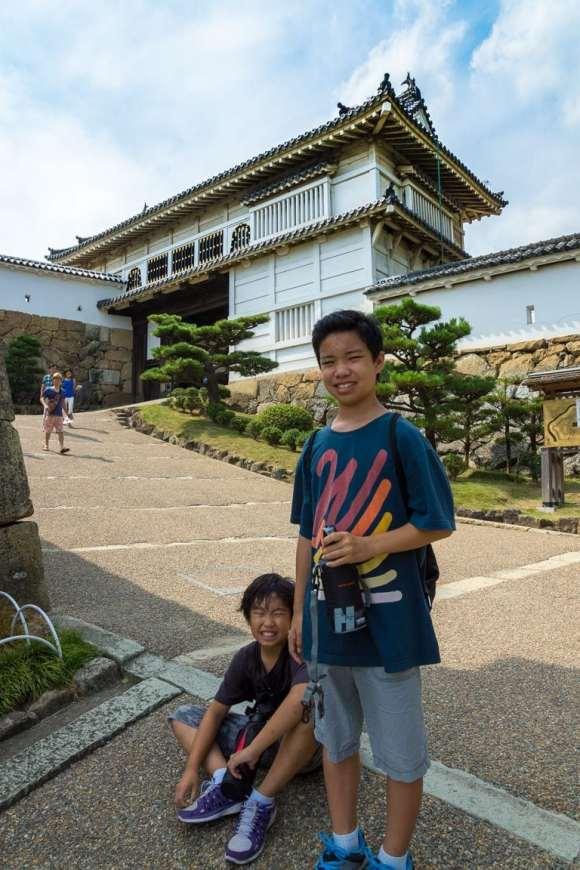 Hot Day at Himeji Castle