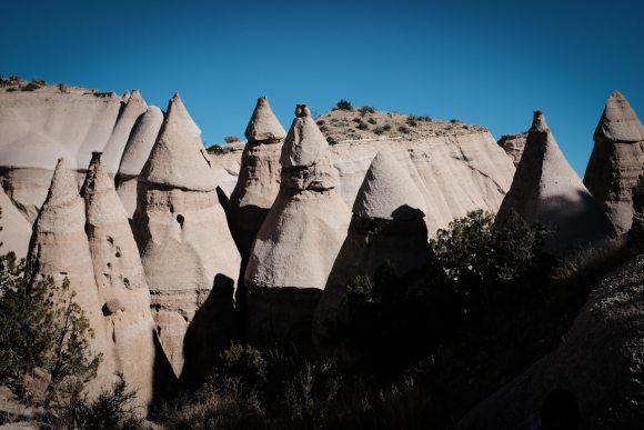 """The Tent Rocks"". USA. New Mexico. Kasha-Katuwe Tent Rocks National Monument. 2015."