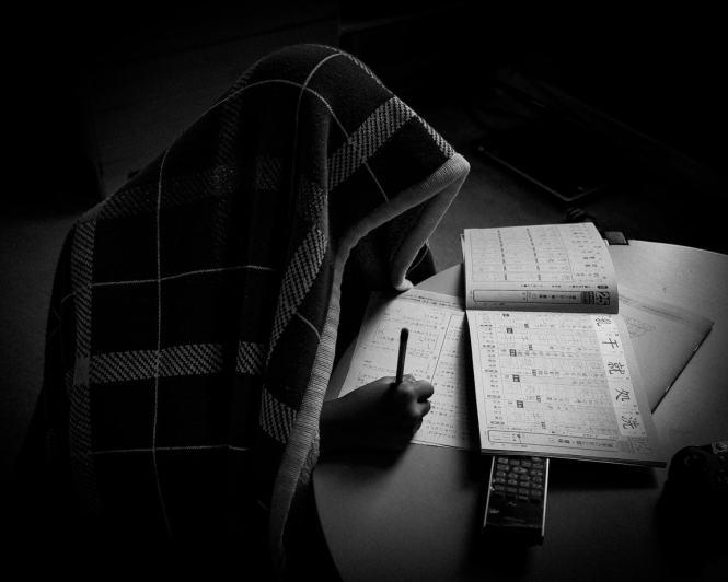 """The Hermit of Homework"" Cedar Park, 2016"