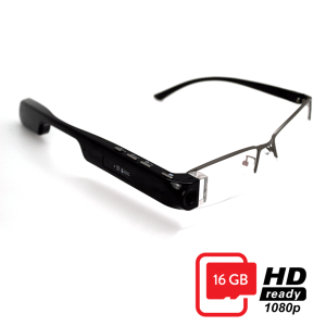 Digioptix 1080P HD 16G Motus Smart Glasses