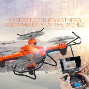 Orange WIFI Real-Time Image Transfer Function Stable RC Drone Quadcopter