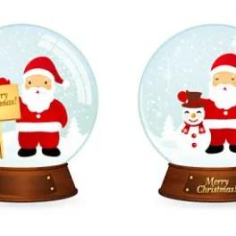 christmas-snowball-illustrations-free-vector