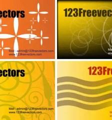 093_Free_Vector_Visiting_Card