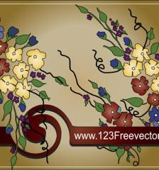 122_Flower-Text-Frame