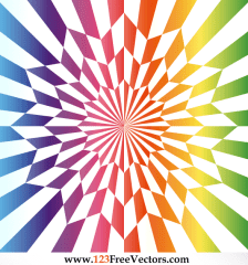 562-vector-star-optical-illusion-rainbow-color