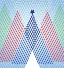 129-free-vector-christmas-tree-lines