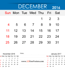 december-2016-calendar-printable-free-vector