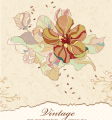 082-download-vintage-floral-background-free-vector