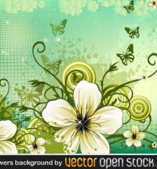 117-flowers-background