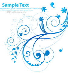 229-abstract-blue-floral-background-vector-illustration