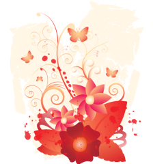 275-april-flowers-vector-design