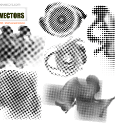008-halftone-free-vector