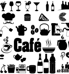 205-cafe,-restaurant-icons-symbols-free-vector
