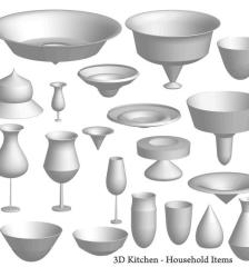 226-free-vector-3d-kitchen-items