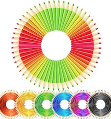 267-free-vector-colored-pencils
