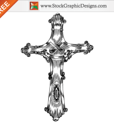 020-free-hand-drawn-cross-vector-l