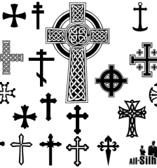 046-free-vector-crosses