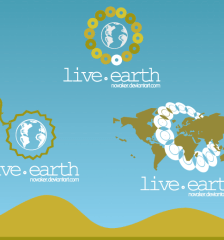 116-live-earth-free-logo-design