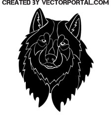 black-wolf-image-free-vector-3126