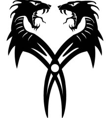 dragon-twins-free-free-vector-2617