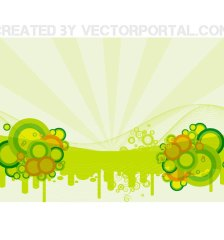 green-retro-stock-free-vector-342