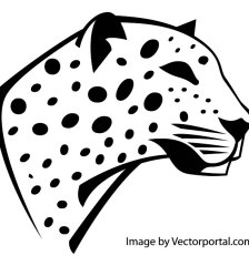 leopard-head-image-free-vector-2096