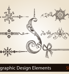 calligraphic-design-elements-page-decoration-vector-illustration-s2